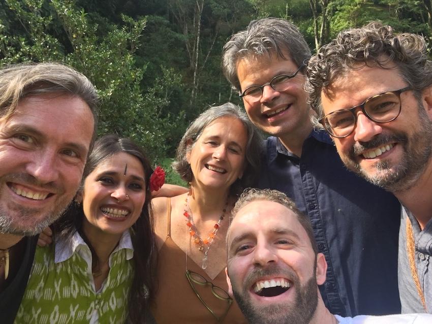 2019 05 19 Brazil Sinal Poetics of Regeneration Workshop Rama alexander Thais Stuart Bryan Federico