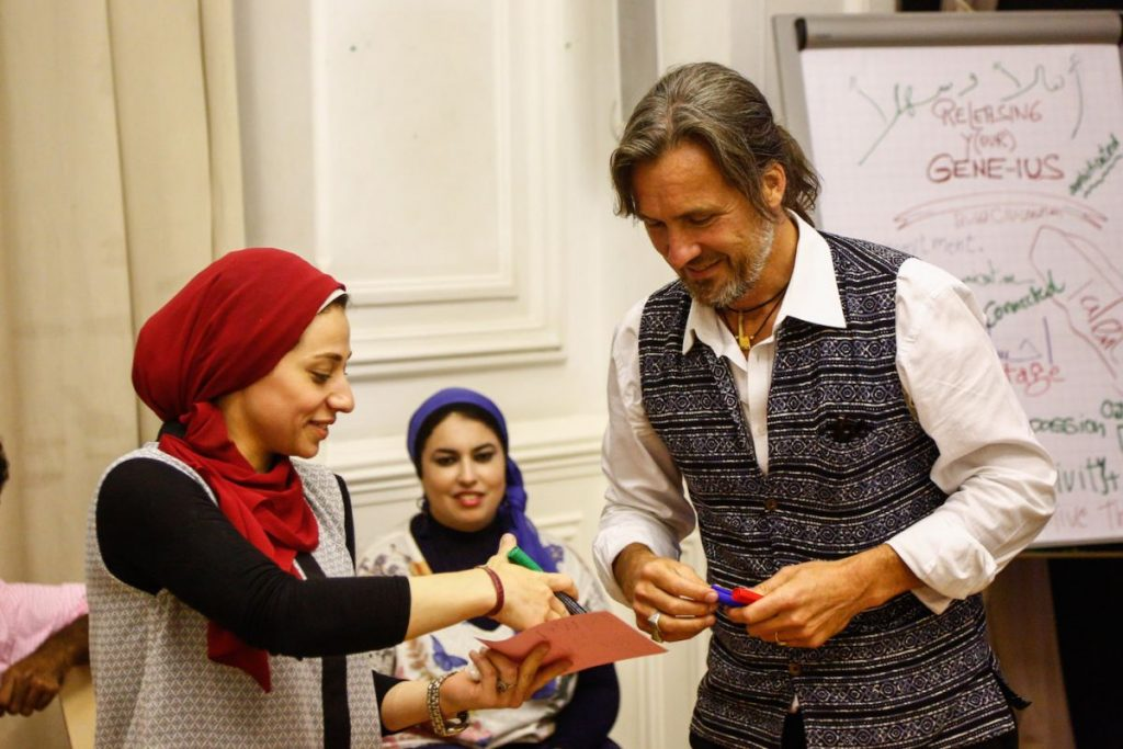 2019 06 14 Egypt Cairo GENEIUS Workshop Alexander Rasha Khuloud