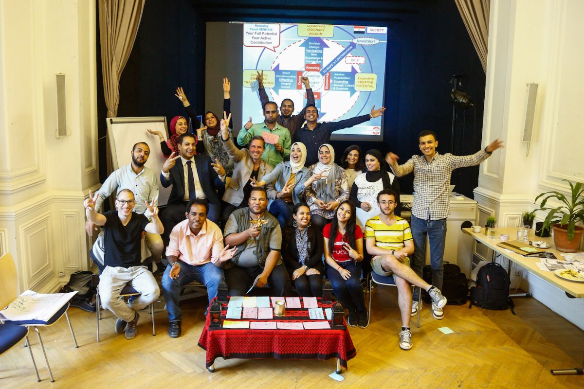 2019 06 14 Egypt Cairo GENEIUS Workshop Full Group Pic 1