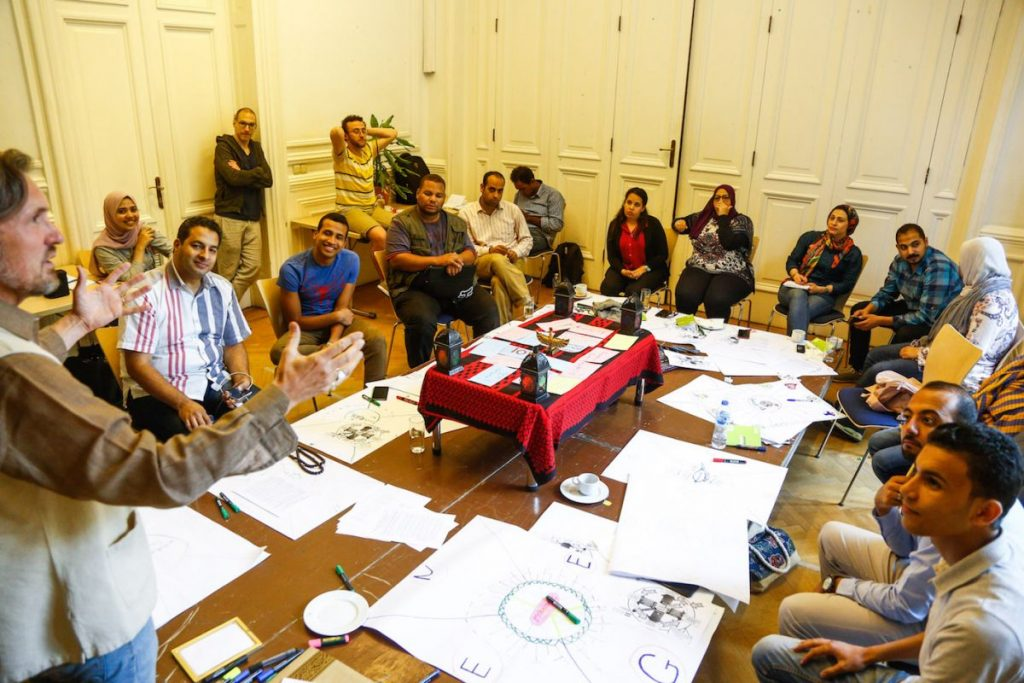 2019 06 14 Egypt Cairo GENEIUS Workshop Full Group in Action