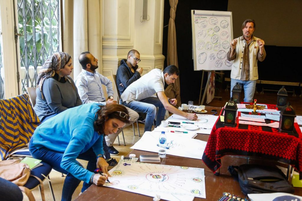 2019 06 14 Egypt Cairo GENEIUS Workshop Group in Action 2