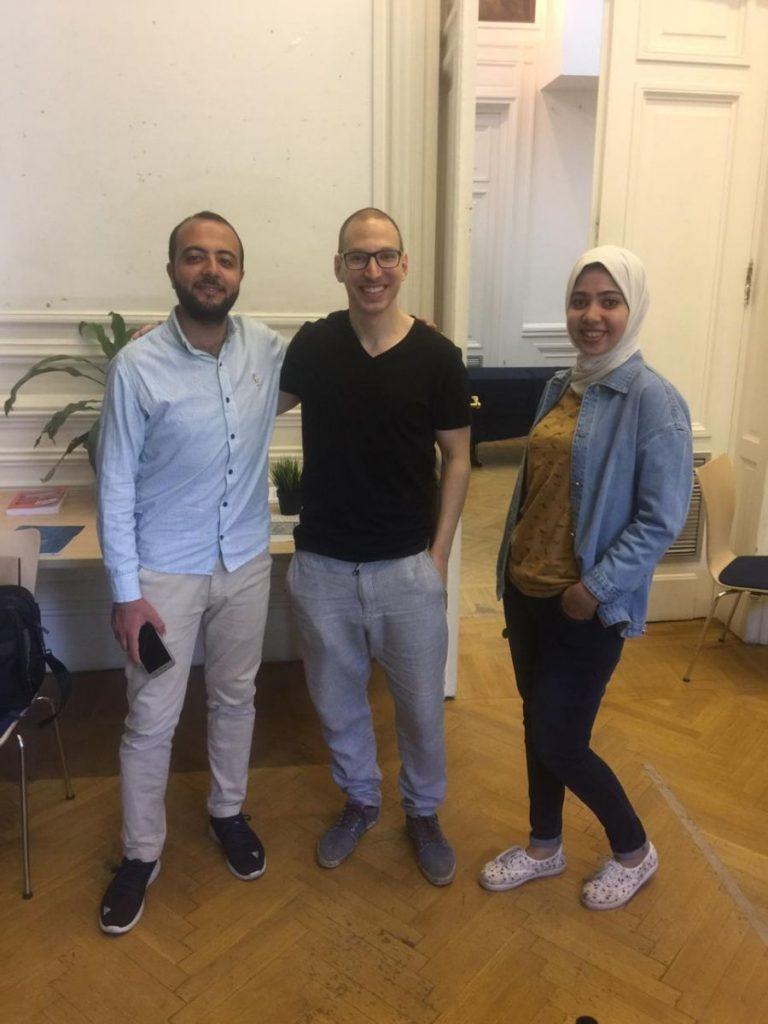 2019 06 14 Egypt Cairo GENEIUS Workshop Mostafa Roman Ghada