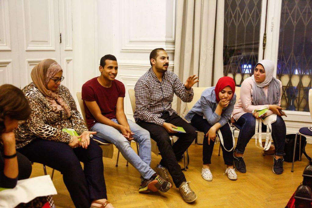 2019 06 14 Egypt Cairo GENEIUS Workshop Omar Hamza Raghda Toka