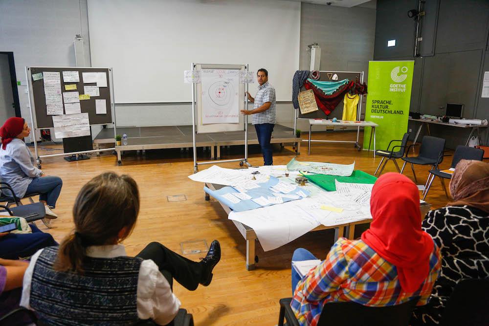 2019 10 19 Egypt Cairo Egyptian Genius Workshop Mohamad Sayed Khalil Group