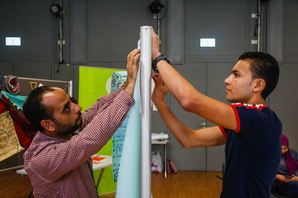 2019 10 19 Egypt Cairo Egyptian Genius Workshop Mohamed Elbanby Hossam Soltan