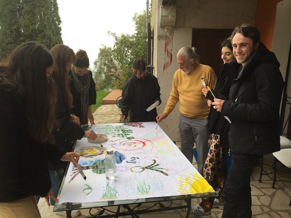 2019 10 28 TA Course St Gallen at H4H Group Painting 1