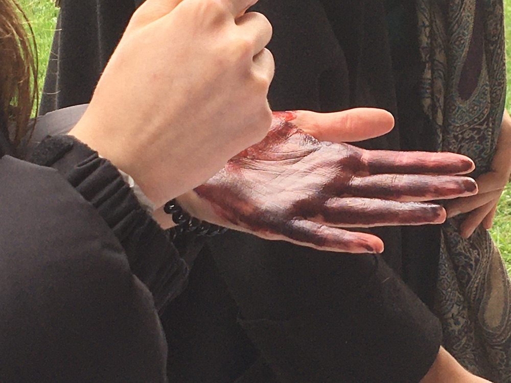 2019 10 28 TA Course St Gallen at H4H Group Painting Painted Hands