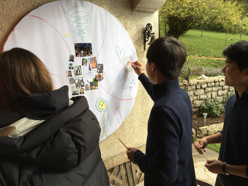 2019 10 28 TA Course St Gallen at H4H Mandala Drawing 1