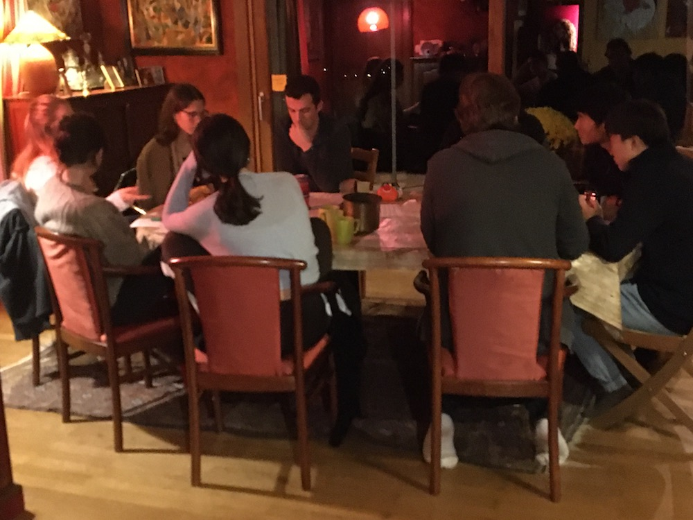 2019 10 28 TA Course St Gallen at H4H World Cafe 8