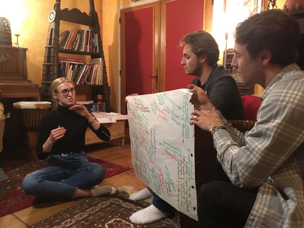 2019 10 28 TA Course St Gallen at H4H World Cafe Presentations 2