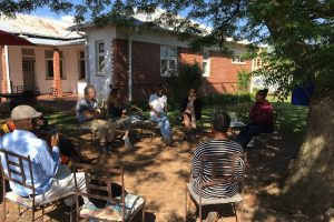 2019 11 11 South Africa PhD Tips Module Sophiatown The Mix Circle under Tree