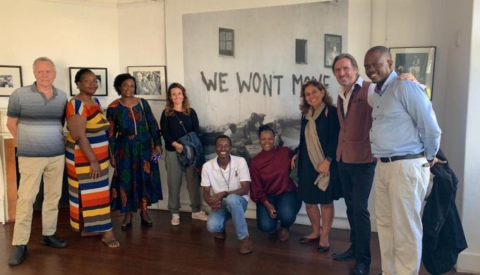 2019 11 11 South Africa PhD Tips Module Sophiatown The Mix Full Group with Violet and Hope