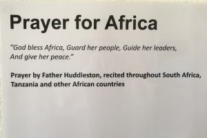 2019 11 12 South Africa Sophiatown Trevor Huddleston Integral Africa Dialogue Prayer for Africa