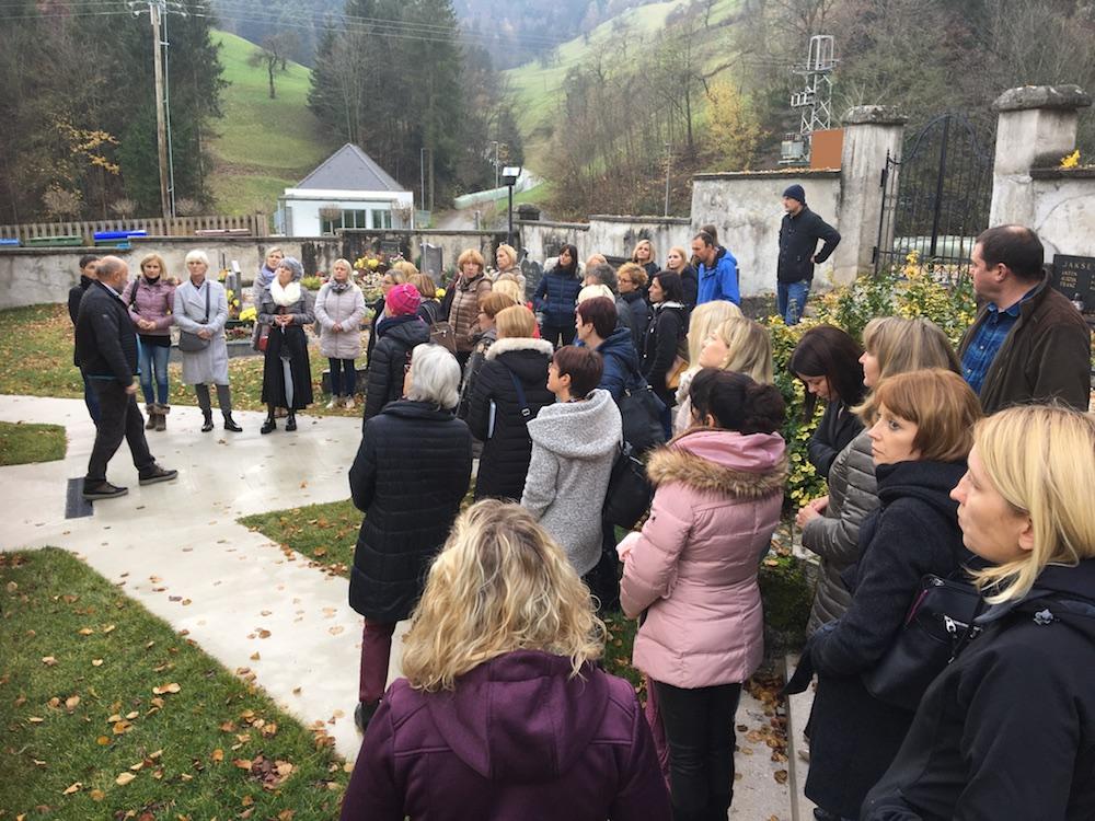 2019 11 23 Slovenia IGE 2019 Spitalic Community Gathering at Church