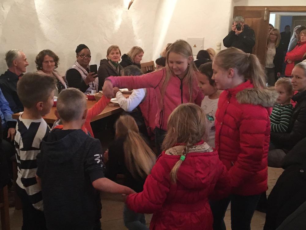 2019 11 23 Slovenia IGE 2019 Spitalic Community Lunch Children Dance