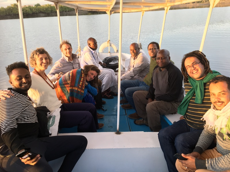 2019 12 20 Egypt Aswan Nile Journeys Boat Trip Group Pic 1