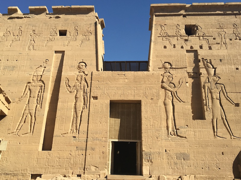 2019 12 20 Egypt Aswan Nile Journeys Isis Temple Philae Island 2