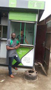 Yusuf Adeojo - With Community Corner Shop of Heritage Bank, Nigeria
