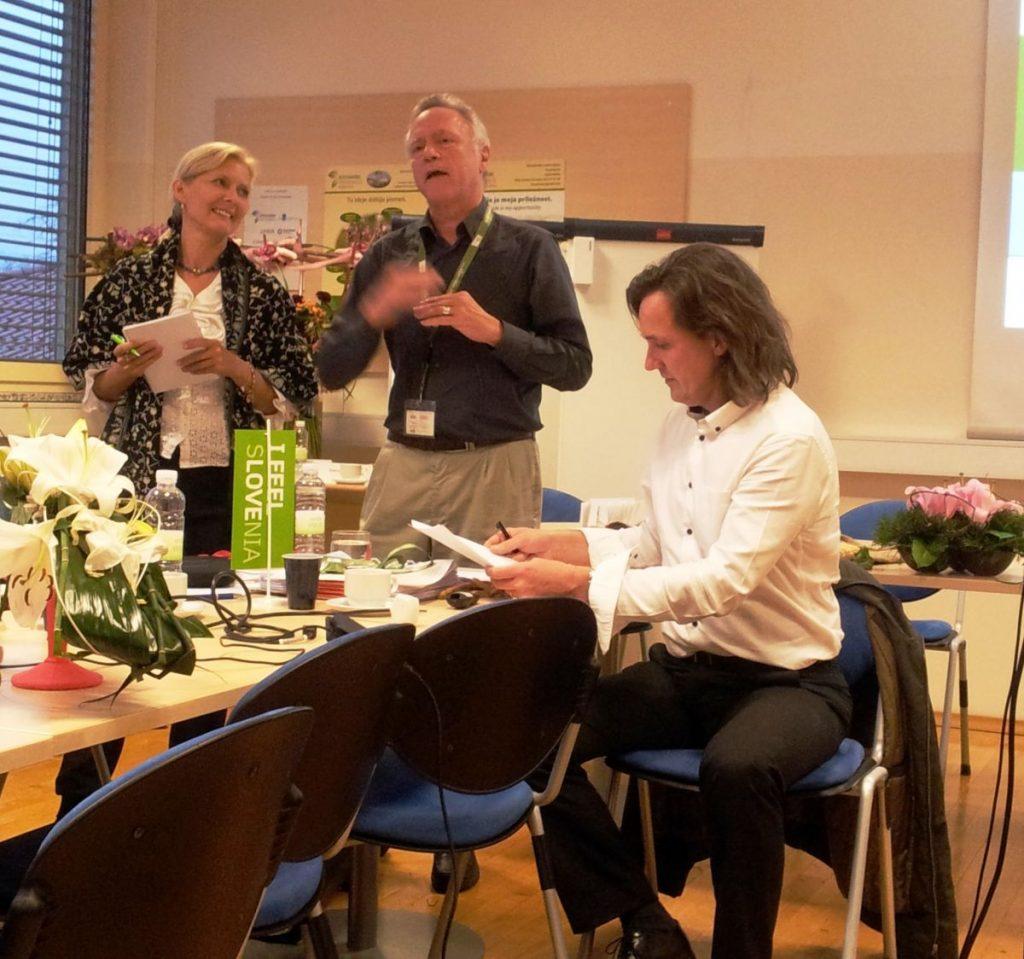 Integral Green Slovenia 2014 Branka, Ronnie & Alexander