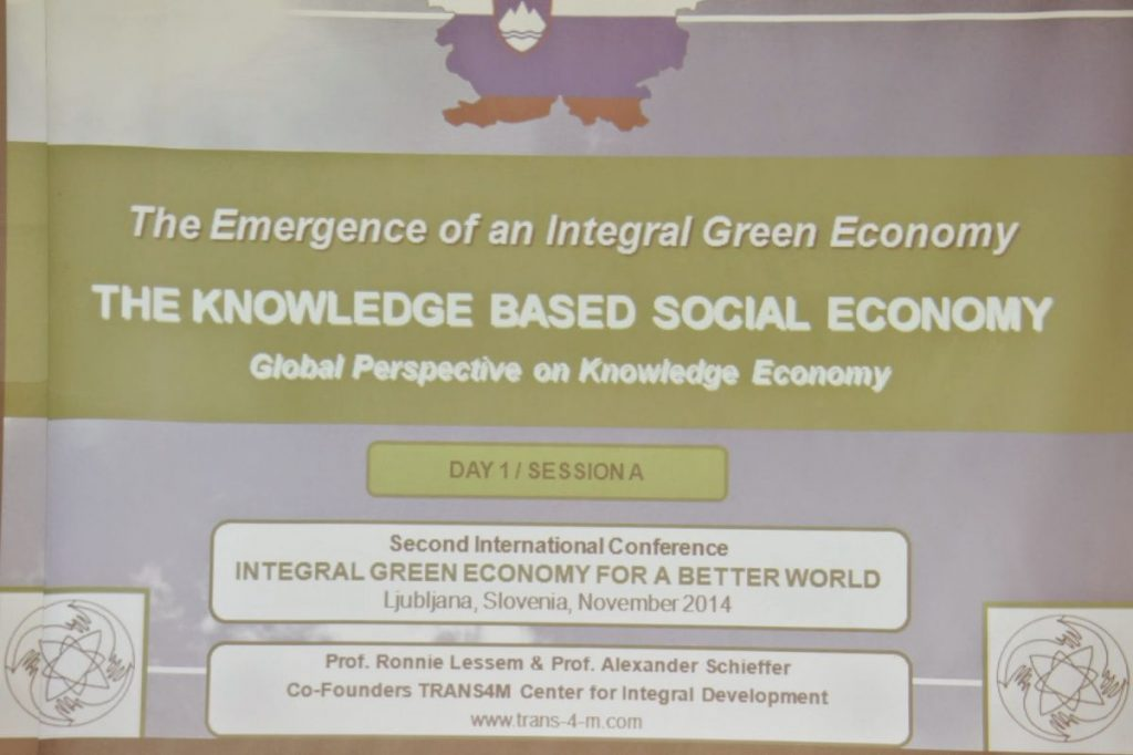 Integral Green Slovenia Conference 2014 - Impression 1