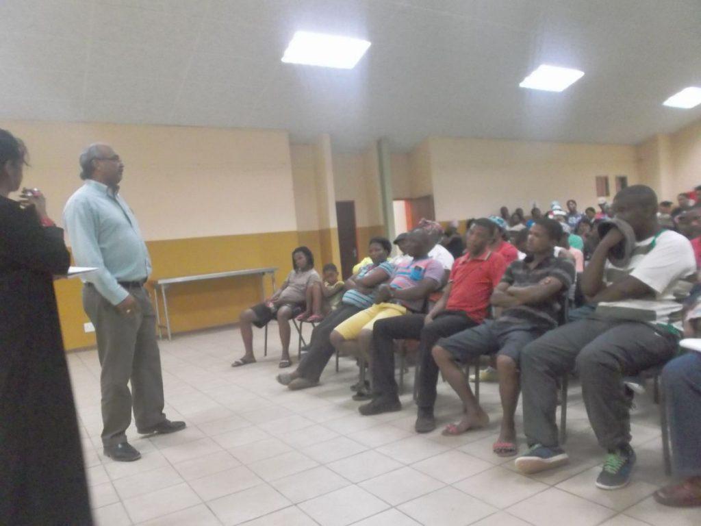 Loshnee Naidoo - Community Engagement in Groblershoop