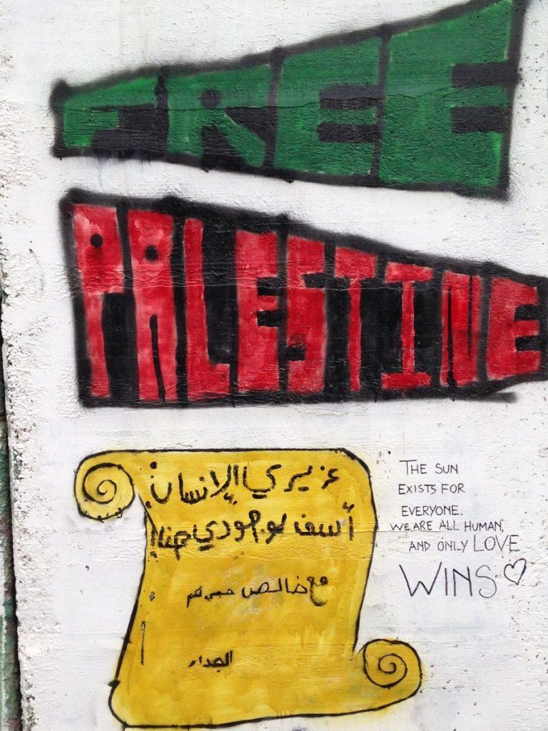 Palestine Wall Murals 1