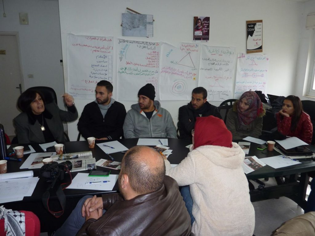 Integral Workshop with a Youth Group of Palestinian Centre for Peace and Democracy
