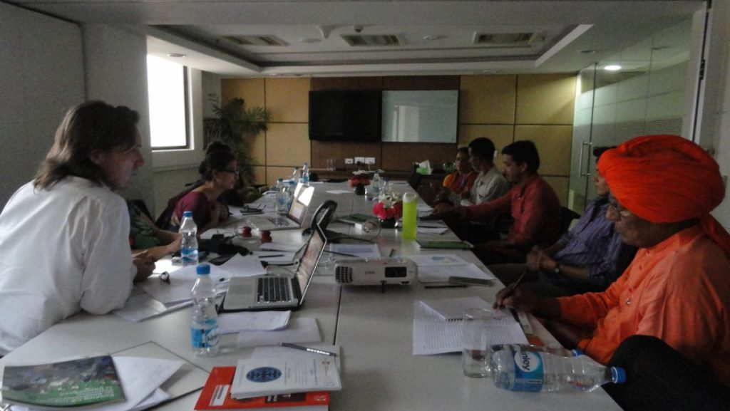 The Impact Forum was attended by Representatives of the impacted Community Radios in Uttarakhand, Community Radio Experts from India, Bangladesh and Nepal, as well as by India's famous activist Swami Agnivesh and IOM's Dr. Meera Seethi