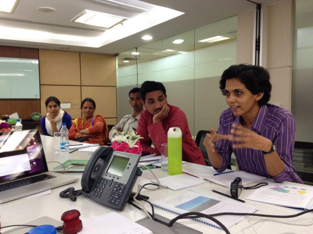 Jean Parker Impact Forum Shalini Bay and Community Radio Executives