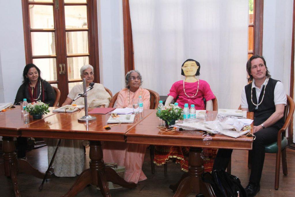 "The ""Booklaunch Panel"", including CSR Representative of Deutsche Bank India"