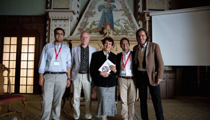 TIGE Caux Booklaunch Integral Green Slovenia 2016 07 07 Lauch Photo Piciga Lessem Schieffer with Organizers