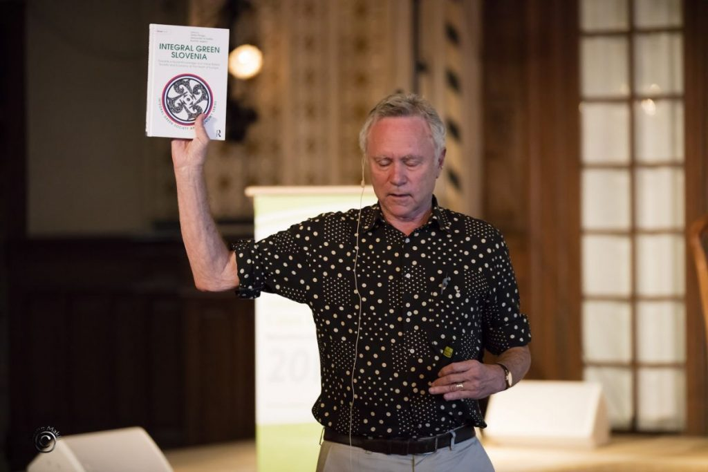 TIGE Caux Booklaunch Integral Green Slovenia 2016 07 07 Lessem holding IGS
