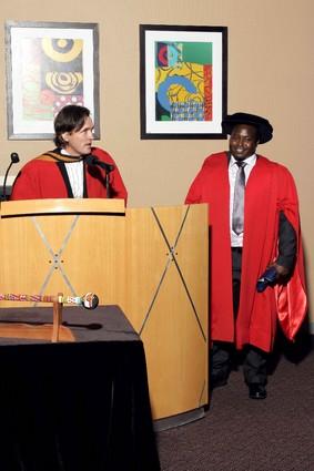 Graduation Ceremony - with Prof. Alexander Schieffer