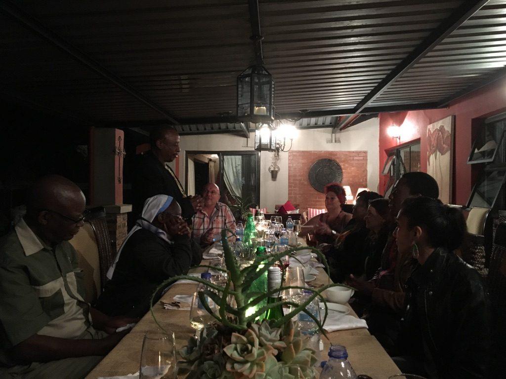 2017 03 04 PhD Module Johannesburg Cohort 4 Evening Emil and Eureka Nothnagel home