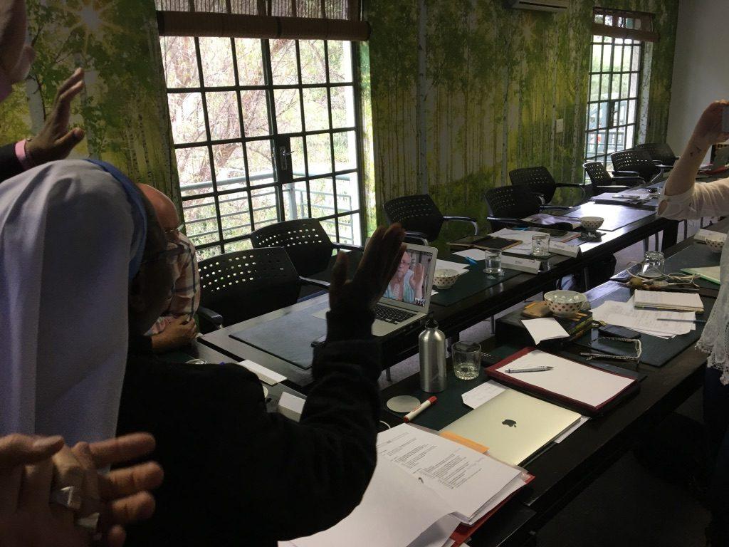 2017 03 04 PhD Module Johannesburg Cohort 4 Group with Ronnie 2