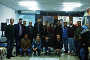 2017 04 02 Ramallah Workshop Sharek Group 2 with Zahira Kamal