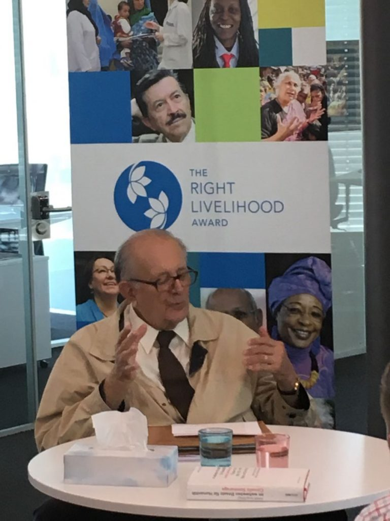 2017 04 10 Geneva Cornelio Sommaruga Talk at RLA Office 2