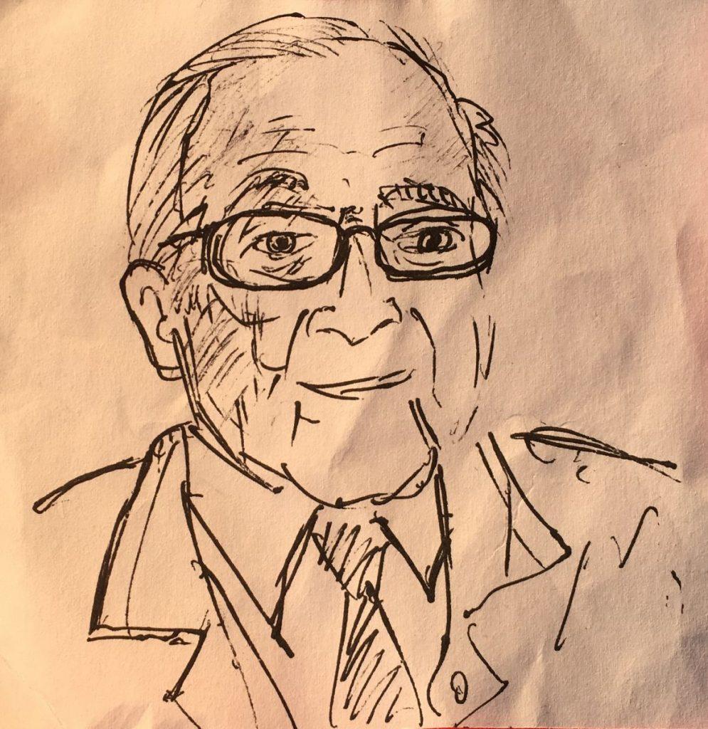 2017 04 10 ID Course Drawing by Victor Morgan of Cornelio Sommaruga 1