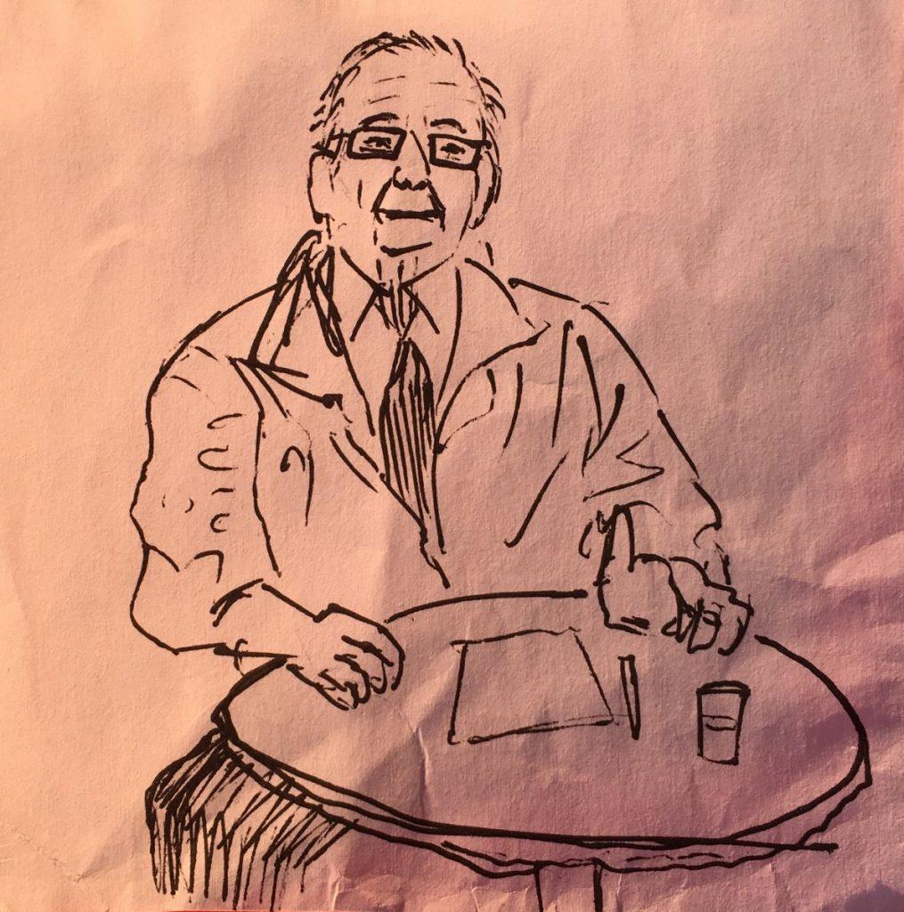 2017 04 10 ID Course Drawing by Victor Morgan of Cornelio Sommaruga 2