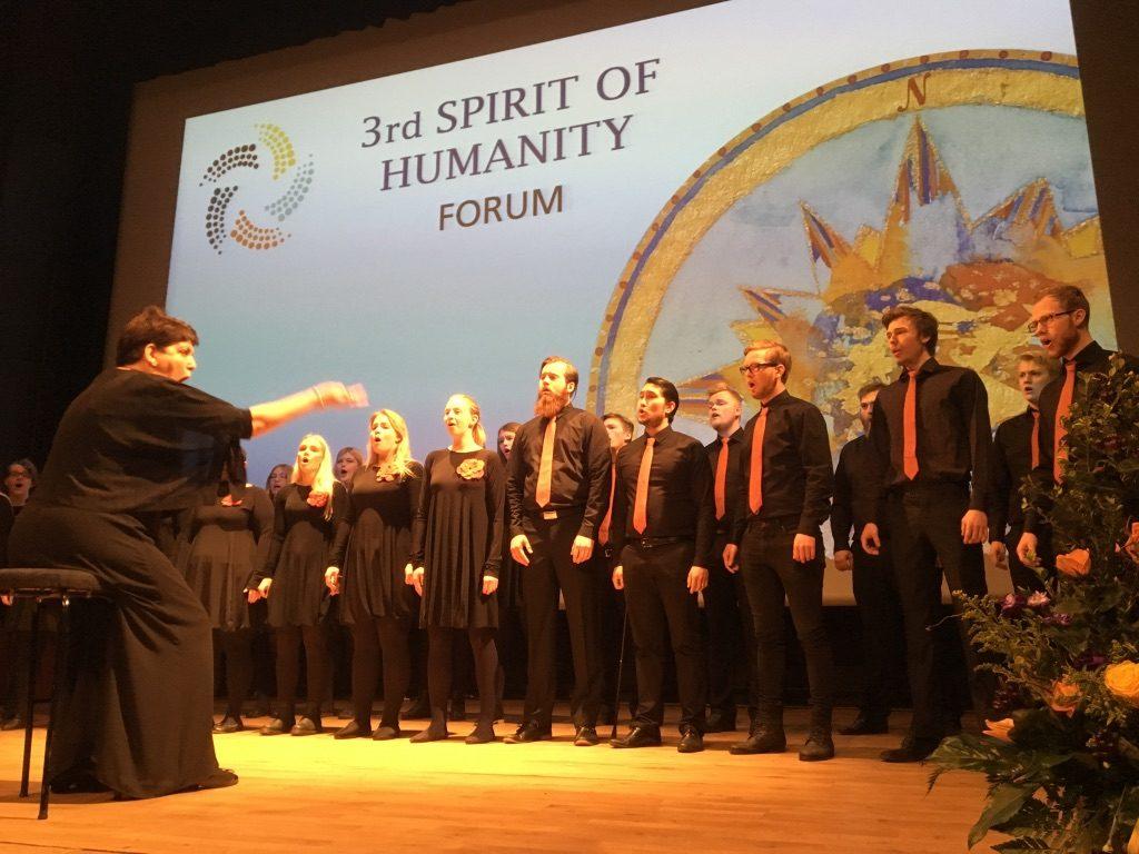 2017 04 27 Spirit of Humanity Forum Iceland Icelandic Choir
