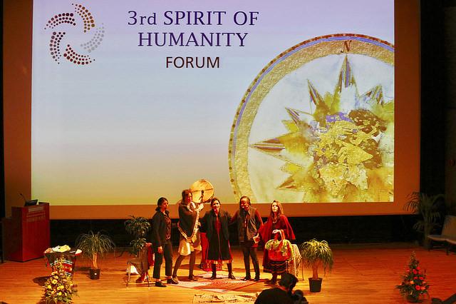 2017 04 Spirit of Humanity Forum Reykjavik Opening Theatre of Transformation Rama