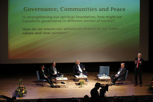 2017 04 Spirit of Humanity Forum Reykjavik Panel Governance Community Peace
