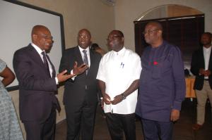2017 05 08 Nigeria OFIRDI Workshop Anselm Adodo Government Officials 1
