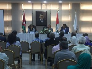 2017 05 Jordan Amman Book Launch Adel Rasheed Panel 1