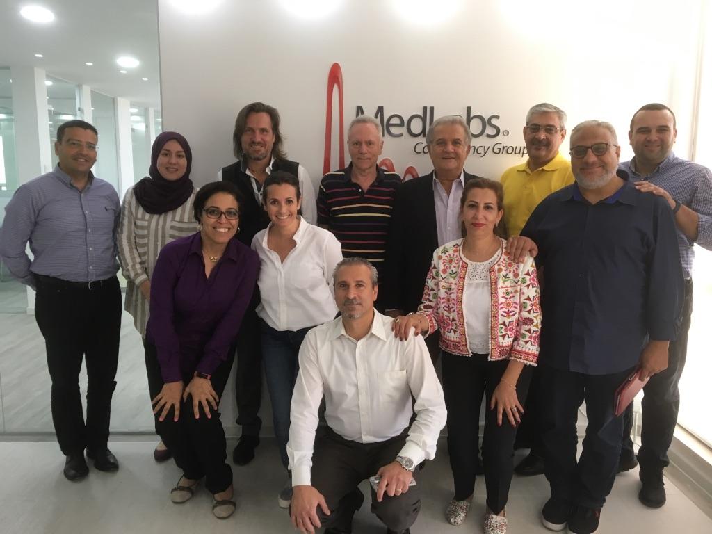 2017 07 06 Amman Medlabs Workshop Group Picture