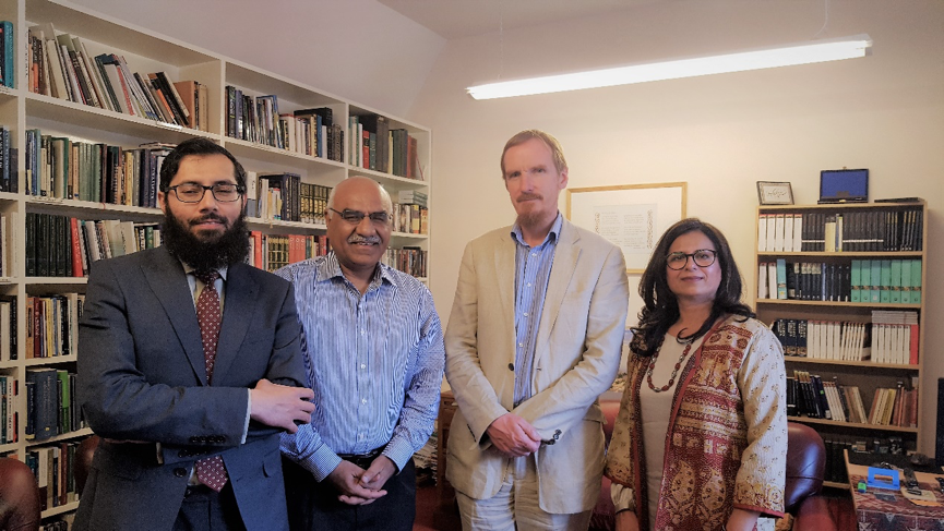 Akhuwat Roadshow – Cambridge – With Shaykh Hakim Murad Dean Cambridge Muslim College & Dr Amjad Saqib Chairman Akhuwat Foundation, Pakistan