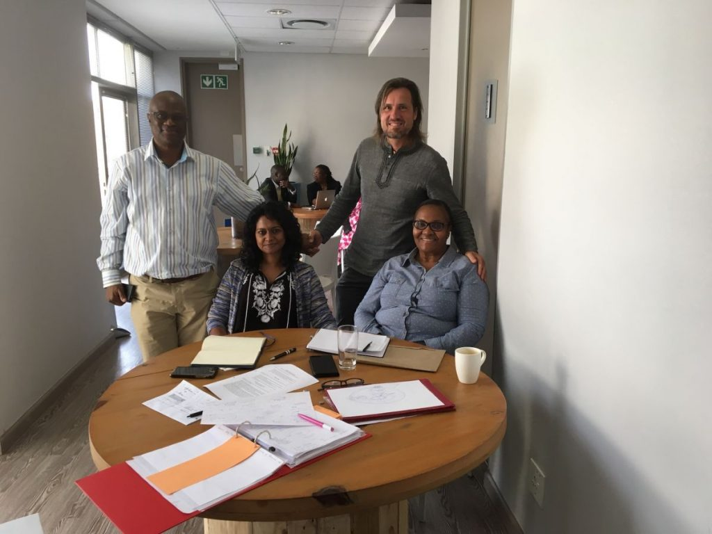 2017 09 12 Johannesburg Integral Africa Roundtable Breaktout Group Mamukwa Naidoo Bhengu Schieffer
