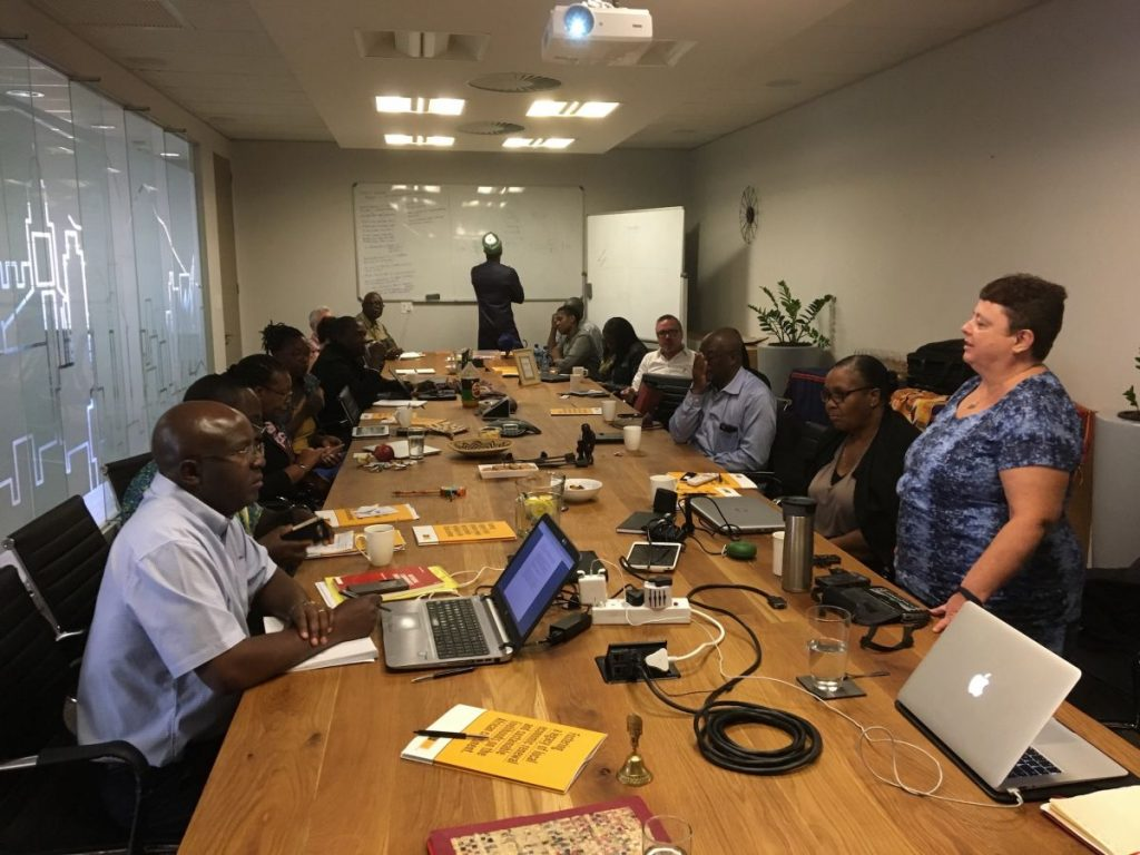 2017 09 12 Johannesburg Integral Africa Roundtable Group 1