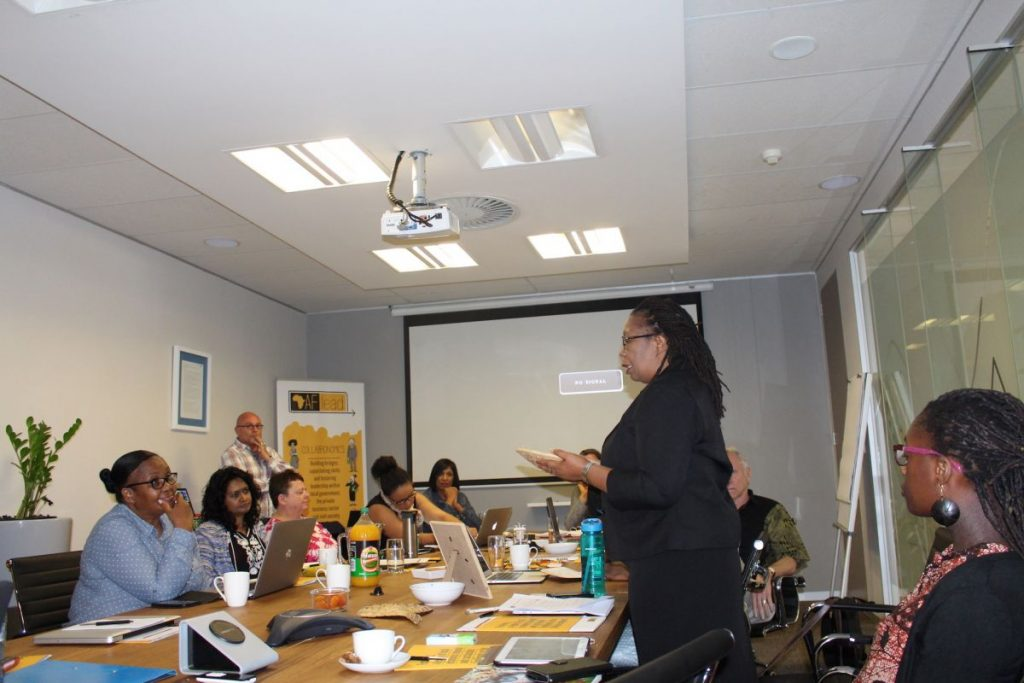 2017 09 12 Johannesburg Integral Africa Roundtable Group 5