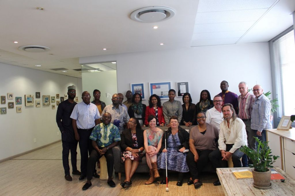 2017 09 12 Johannesburg Integral Africa Roundtable Group Pic 2
